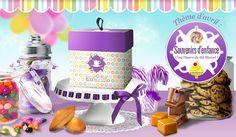 Box Envouthé d'Avril Souvenirs d'enfance.  Hâte de la recevoir.