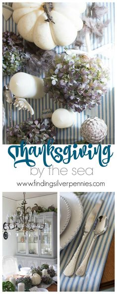 How to Create an Easy and Coastal Inspired Tablescape