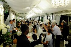 Big fat Italian wedding reception