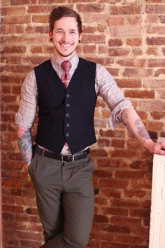 Tattoos and style. Dashing. ^^