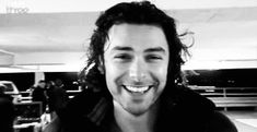 The Aidan Turner Smile!! <3 :)