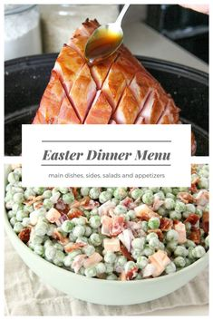 Everything you need to inspire and create your Easter Dinner Menu! Covering the main dish, side dishes, salads and appetizers!