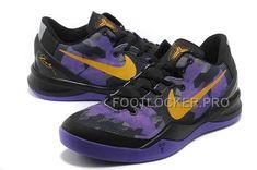 new product fc942 2bed3 Nike Zoom Kobe Viii Mens Black Purple