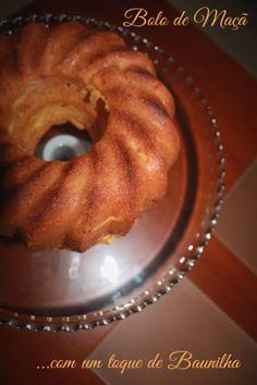 Bolo de Maçã * Apple Cake with vanilla