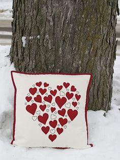 City House Studio: Valentine's Day Pillows