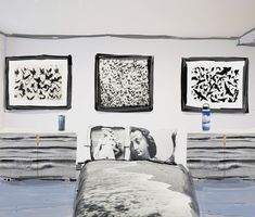 Virtual Bedroom featuring products from my Society6 shop. Gallery Wall, Art Prints, Bedroom, Artwork, Shop, Home Decor, Products, Art Impressions, Work Of Art