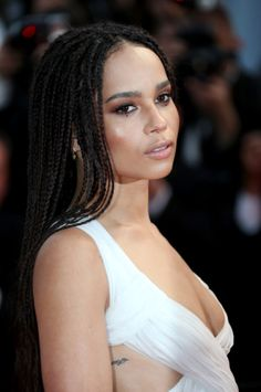 Zoë Kravitz attends the 'Mad Max: Fury Road' Premiere during the 68th annual Cannes Film Festival on May 14, 2015 in Cannes, France.