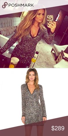 "Sequins mini dress Jessie James decker prom top 4 Brand new Rachel Zoe sequins dress  as seen on  the stunning Jessie James Decker 💕 size 4 but fits more like a size 3 (possibly even 2) waist is approximately 26"" 💕💕💕 retails $795 💕💕 sold out on most sites.. only $199 today only Rachel Zoe Dresses Mini"