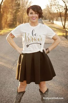 Be Brave - Graphic T-Shirt