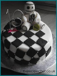 The Recipe Chefs Cakes: Voodoo Emo Cake