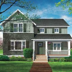 Photo Illustration: Howard Digital | thisoldhouse.com | from Photoshop Redo: A Farmhouse's Better Facade