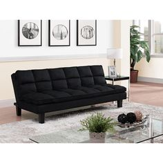 Sofa Mainstays Contempo Futon Bed Multiple Colors Mainstay P