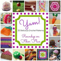 20 Delicious Crochet Patterns!