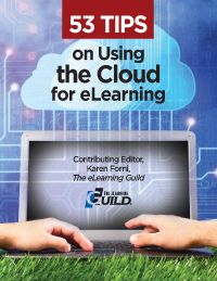 """53 Tips on Using the Cloud for eLearning: This complimentary eBook draws on the experience of 11 eLearning professionals who are leading sessions in The eLearning Guild's June 2012 Online Forum, """"Using the Cloud for eLearning. Instructional Technology, Instructional Design, Educational Websites, Educational Technology, Teaching Technology, Teaching Computers, Technology Tools, Junior High English, Middle School Reading"""