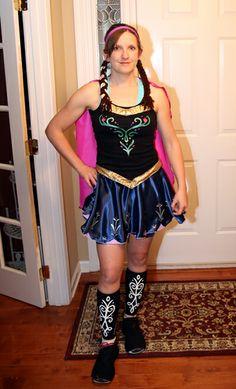 Princess Anna running costume. #frozen #runDisney