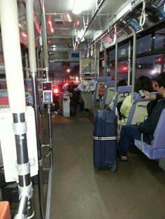 후쿠오카 촌스럽게 일본버스가 신기함