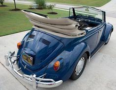 1967 VW Beetle love this colour!