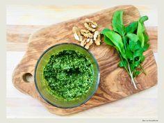 Pesto de rucola cu nuci Pesto, Brunch, Ethnic Recipes, Zen, Greece, Kitchens