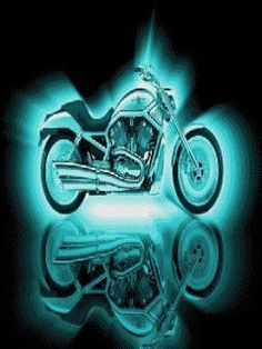 Animated Harley Davidson Screensavers Wallpaper Logo Engine Motorola