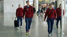 Viaje a Manchester (23/2/15)   FC Barcelona