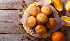 Πανεύκολα muffins με γεύση πορτοκάλι
