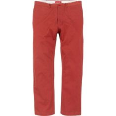 Chino Pant in Brick