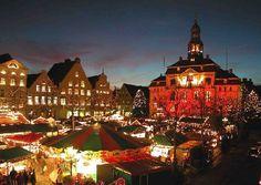 christmas markets Germany | | Weihnachtsmarkt in der Hansestadt Lüneburg -repinned by www.mybestgermanrecipes.com