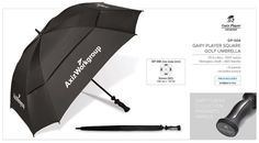 Gary Player Square Golf Umbrella Code: nylon ( dia ) 8 panels includes pouch ( not shown ) Includes free branding on 1 panel. Golf Umbrella, Golf Gifts, Golf Accessories, Corporate Gifts, Umbrellas, Abs, Pouch, How To Apply, Coding