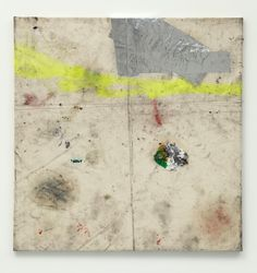 Oscar Murillo  untitled (synthetic trash paintings series), 2011