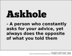 Meaning of 'Askhole'