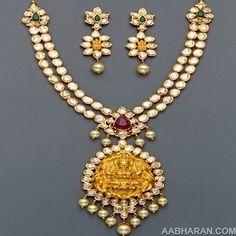 Polki Necklace sets from Mangatrai photo