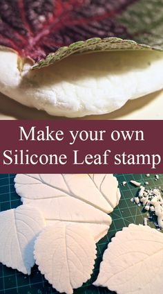 Silicone Leaf Stamp
