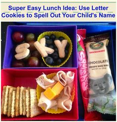 Super easy Back to School lunch!