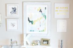 Use a gallery wall with Minted's unique selection of wall art prints to reflect your personal style.