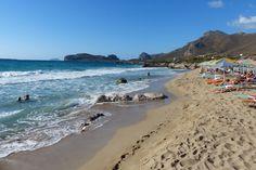 Der Strand von Falassarna im Westen von Kreta. #Falassarna #beach #Crete