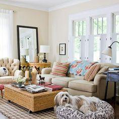 Elegant Modern Furniture Design: 2013 Cottage Living Room Decorating Ideas