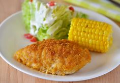 Ranch Chicken.  I would probably pound out or butterfly the chicken breasts so it wouldn't take so long in the oven.