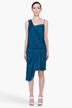 Love this one from Helmut Lang Jersey Dress #fashiondress #women #JerseyDress #Jersey #Dresses #anoukblokker