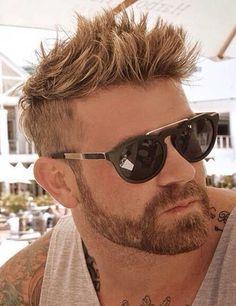 Best Undercut with Beard Styles Guide) Short Hairstyles 2015, Undercut Hairstyles, Boy Hairstyles, Hairstyle Men, Latest Hairstyles, Hairstyle Ideas, Short Beard, Short Hair Cuts, Short Men