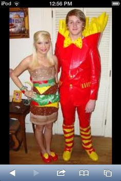 This duck tape dresses always makes me laugh