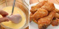 Hoje você vai aprender a preparar uma receita bem rápida e fácil de frango empanado. Frango Empanado Fácil.