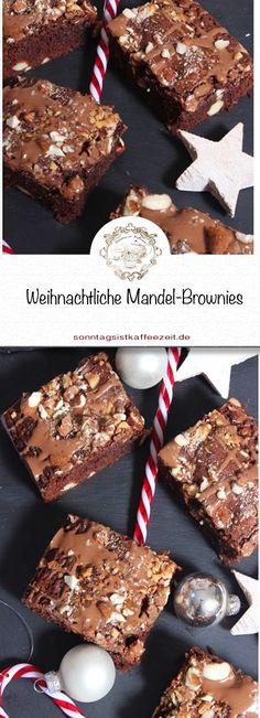 Wenn ihr also Schokolade und Mandelkerne liebt, dann ist dieses Rezept weihnachtliche Mandel-Brownies genau das Richtige für Euch!