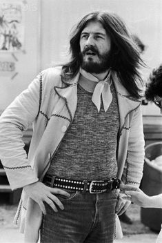 Drummer John Bonham of Led Zeppelin 1975