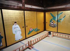 "Daijoji Temple. Maruyama Okyo fusuma. ""Kakushigi No Ma"". Important Cultural Property of Japan."
