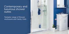 Contemporary & luxurious shower suites. Shower Suites, Vanity Units, Shower Enclosure, Bathrooms, Alternative, The Unit, London, Contemporary, Luxury