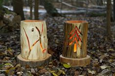 Chainsaw Carving wood Lanterns Free Patterns (6 of 6) | Woodworking Plans | Pinterest
