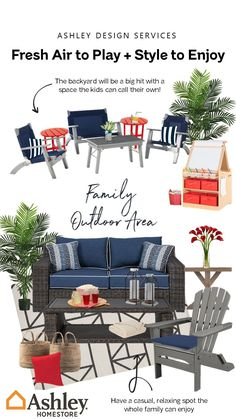 Save Big with Ashley HomeStore deals and discounts. Outdoor Spaces, Outdoor Living, Outdoor Decor, Backyard Patio, Backyard Landscaping, Home Furniture, Outdoor Furniture Sets, Backyard Renovations, Deck Decorating
