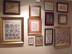 Tarin and Work Diy And Crafts, Cross Stitch, Charlotte Mason, Thimble, Embroidery, Galleries, Homeschooling, Frame, Wall