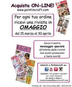 #omaggio #rivista #creatività #crea #pointincraft #cucito