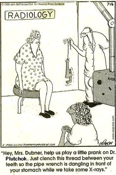 More radiology humor